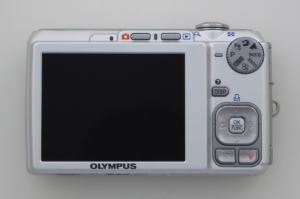Olympus FE-340 Manual - camera back side