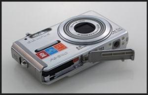 Olympus FE-340 Manual - camera side