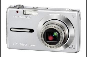 Olympus FE-350 Manual -camera front face