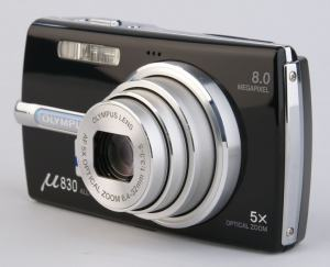 Olympus Stylus 830 Manual - camera side