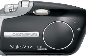 Olympus Stylus Verve Manual - camera front face