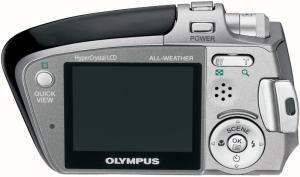 Olympus Stylus Verve S Manual - camera back side