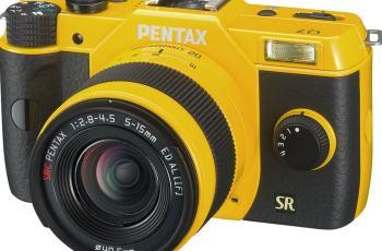 Pentax Q7 Manual - camera front face