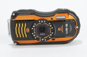 Pentax WG-3 Manual - camera front face