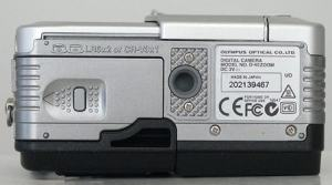 Olympus D-40 Zoom Manual - camera side