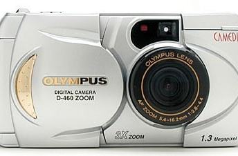 Olympus D-460 Zoom Manual for Olympus 20's Compact Camera Product