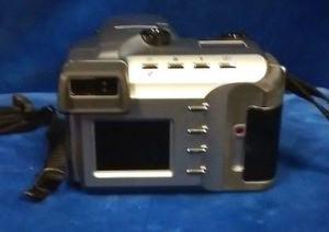 Olympus D-500L Manual - camera back side