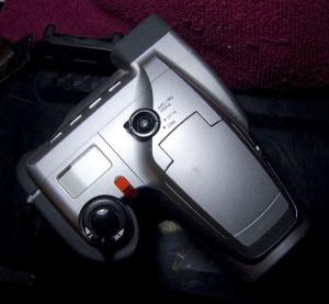 Olympus D-500L Manual - camera side
