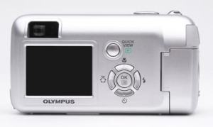 Olympus D-580 Zoom Manual - camera back side
