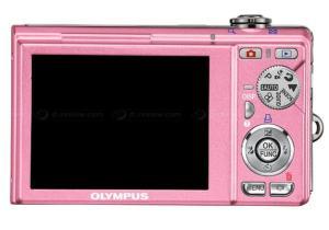 Olympus FE-370 Manual - camera back side