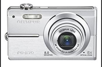 Olympus FE-370 Manual - camera front face