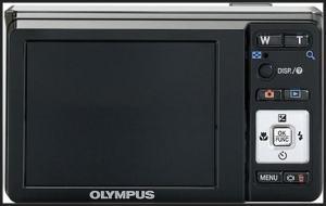 Olympus FE-4000 Manual - camera back side