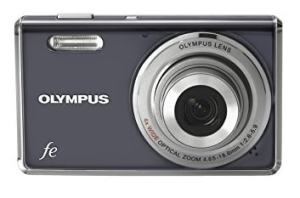 Olympus FE-4000 Manual - camera front side