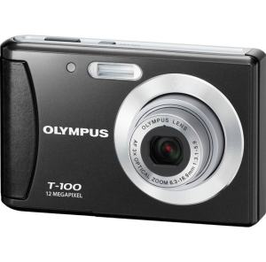 Olympus T-100 Manual- camera front face