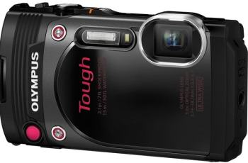 Olympus TG-870 Manual-camera front side