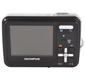 Olympus X-560WP Manual - camera back side