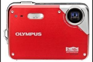 Olympus X-560WP Manual - camera front face