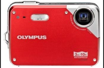 Olympus X-560WP Manual - camera front face