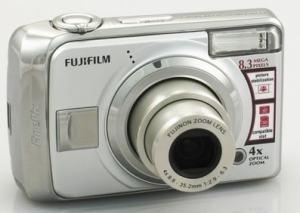Fujifilm FinePix A820 Manual - camera front side