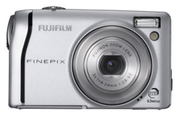 Fujifilm FinePix F40FD Manual - camera front side