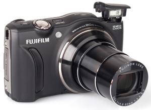 Fujifilm FinePix F800EXR Manual - camera front side