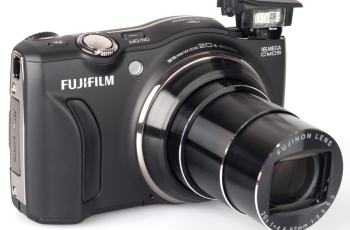 Fujifilm FinePix F800EXR Manual - camera front side