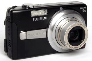 Fujifilm FinePix J50 Manual-camera front face