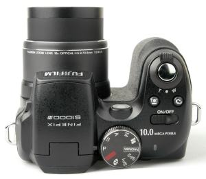 Fujifilm FinePix S1000FD Manual - camera side
