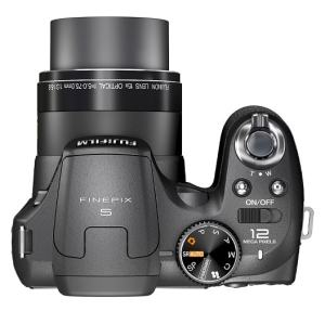 Fujifilm FinePix S1600 Manual - camera tp side