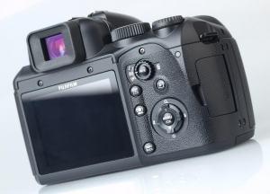 Fujifilm FinePix S200EXR Manual - camera back side