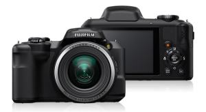 Fujifilm FinePix S8600 Manual - camera front and back side