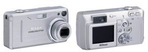 Nikon CoolPix 3700 Manual - camera front and back side