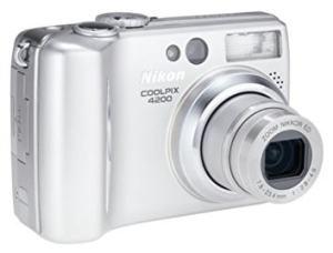 Nikon CoolPix 4200 Manual - camera front side