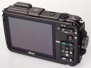 Nikon CoolPix AW100 Manual-camera back side