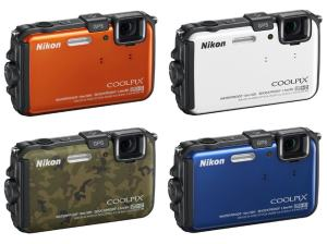 Nikon CoolPix AW100 Manual -camera variant