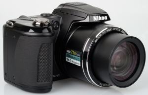 Nikon CoolPix L310 Manual - camera front face