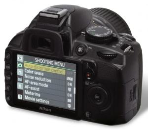Nikon D3100 Manual - camera back side