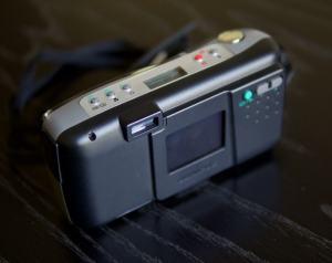 OLYMPUS D-200L Manual - camera back side