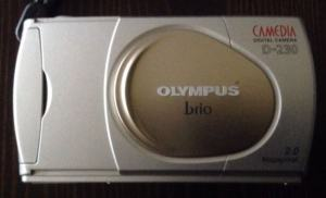 Olympus D-230 Manual User Guide and Product Specification