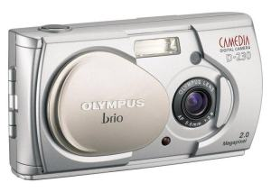 Olympus D-230 Manual-camera front side
