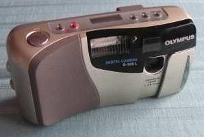 Olympus D-300 L Manual - camera front face