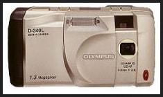 Olympus D-340L Manual User Guide and Product Specification