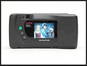 Olympus D-360L Manual - camera back side