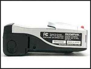 Olympus D-360L Manual - camera side
