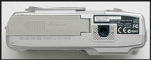 Olympus D-370 Manual - camera side