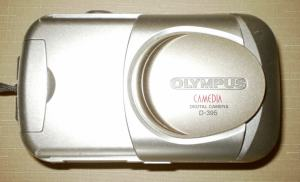 Olympus D-395 Manual - camera with lens closed