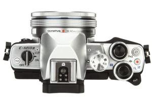 Olympus OM-D E-M10 Manual - camera side