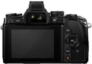 Olympus OM-D EM-1 Manual - camera back side