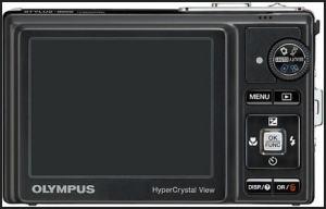 Olympus STYLUS-9000 Manual - camera back side