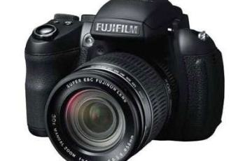 FujiFilm FinePix HS35EXR Manual - camera front face